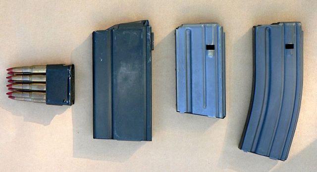 M1-M14-M16-magazines
